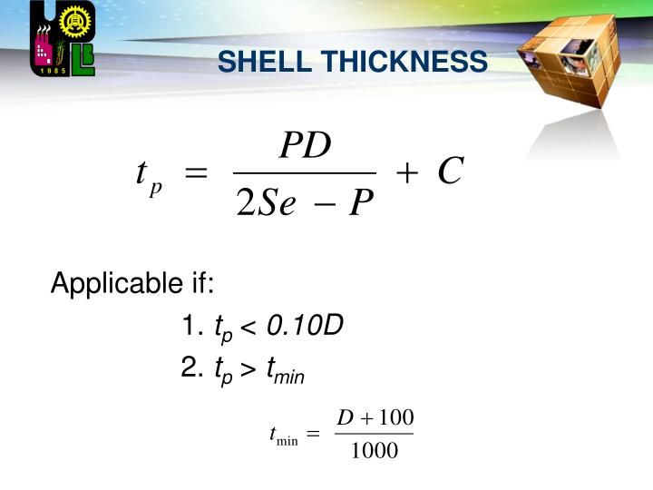 Shell thickness1