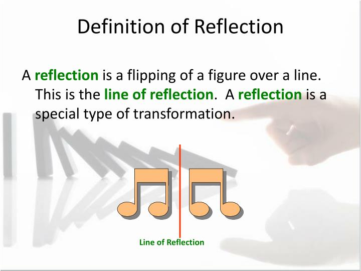 Definition of Reflection