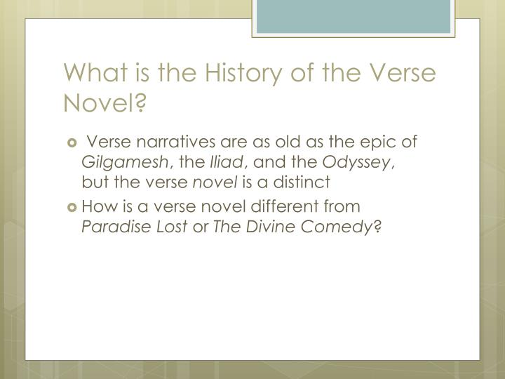 What is the History of the Verse