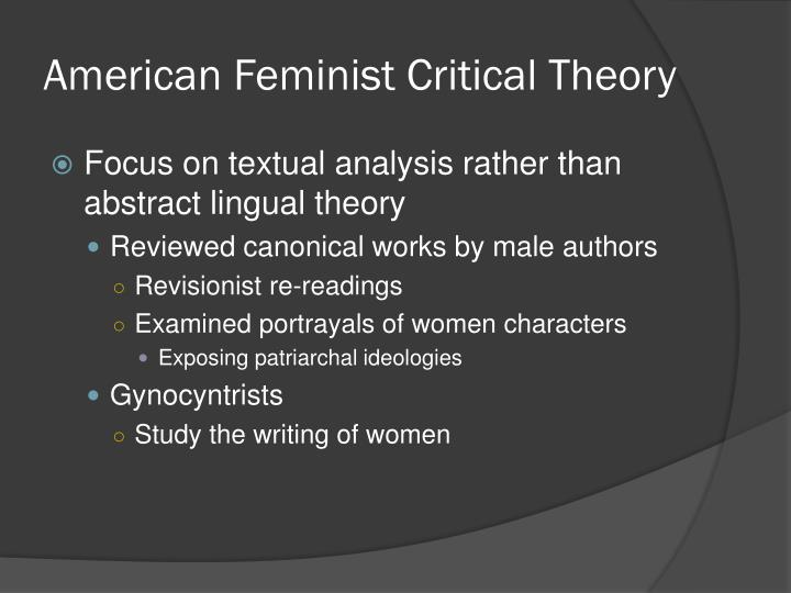 MacBeth and Feminist Theory