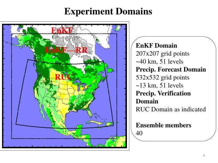 Experiment Domains