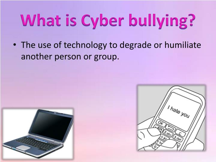 students who commit cyberbullying should be suspended from school Should students who commit cyber bullying be suspended from school by: lyric boyd students who commit cyber bullying should be suspended from school what is cyber bullying the use of technology to degrade or humiliate another person or group cyber bullies use internet/web pages.