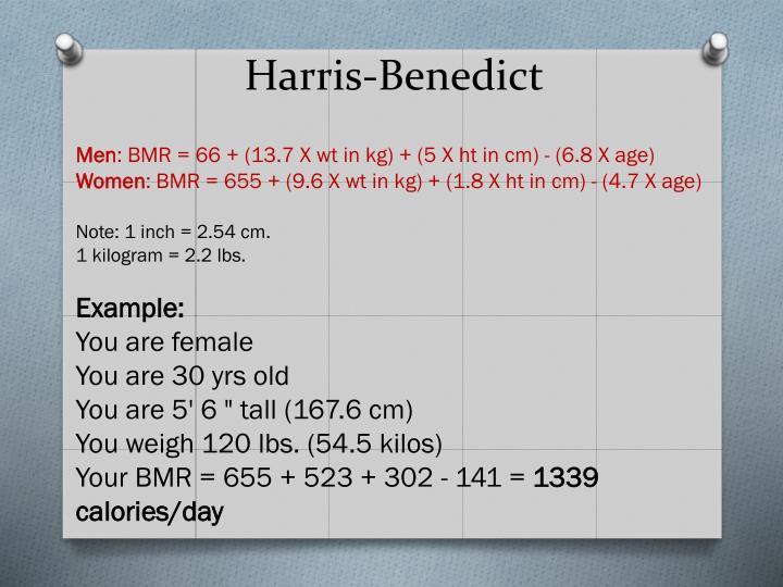 Harris-Benedict