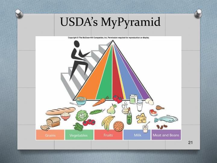 USDA's MyPyramid