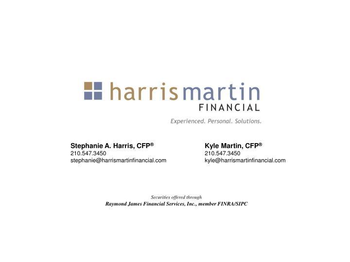 Stephanie A. Harris, CFP