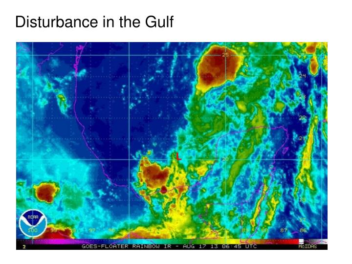 Disturbance in the Gulf