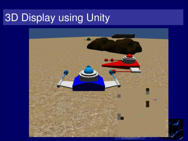 3D Display using Unity
