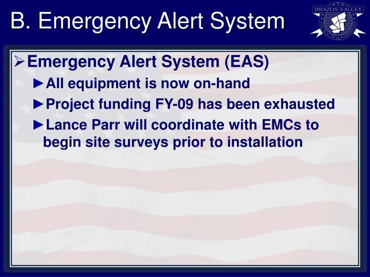 B. Emergency Alert System