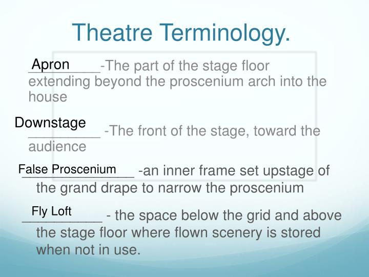 Ppt Introduction To Theatre Powerpoint Presentation Id