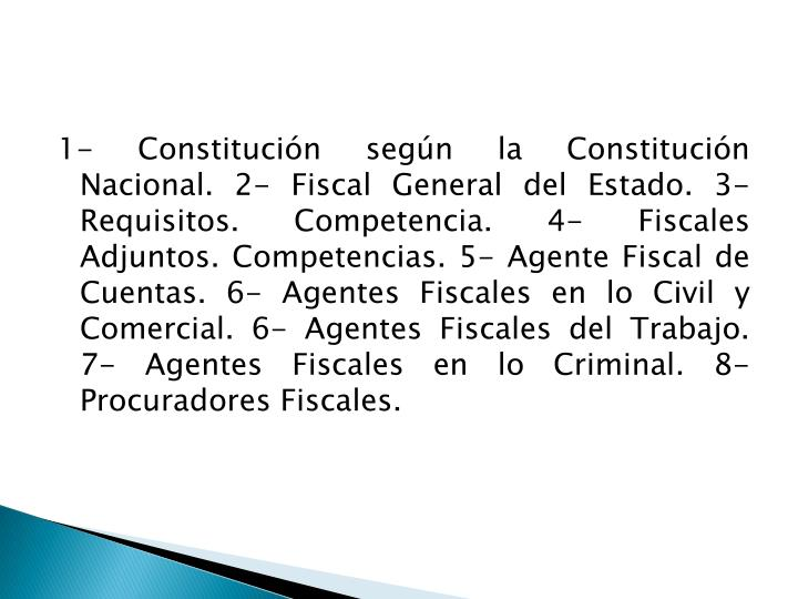 1- Constitución