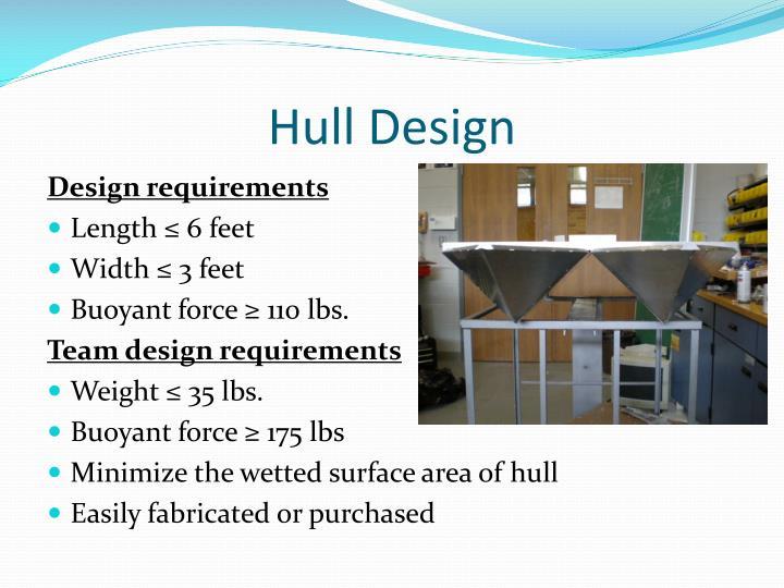 Hull Design
