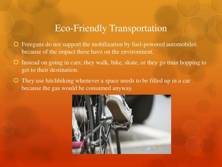 Eco-Friendly Transportation