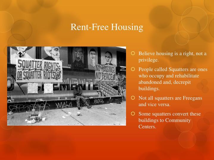 Rent-Free Housing