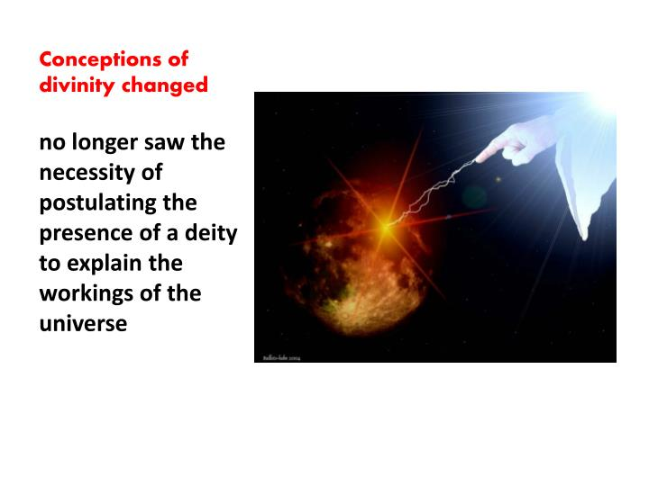 Conceptions of divinity