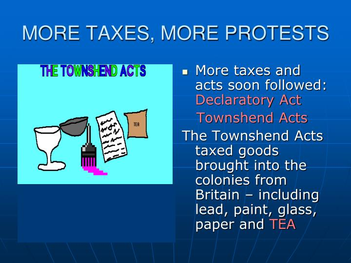 MORE TAXES, MORE PROTESTS