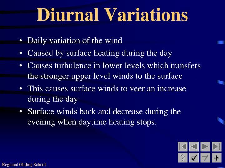 Diurnal Variations