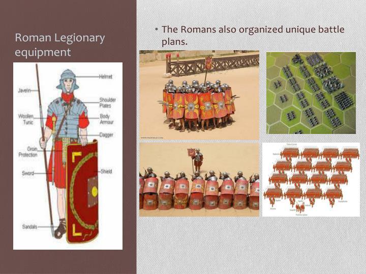 Roman Legionary equipment