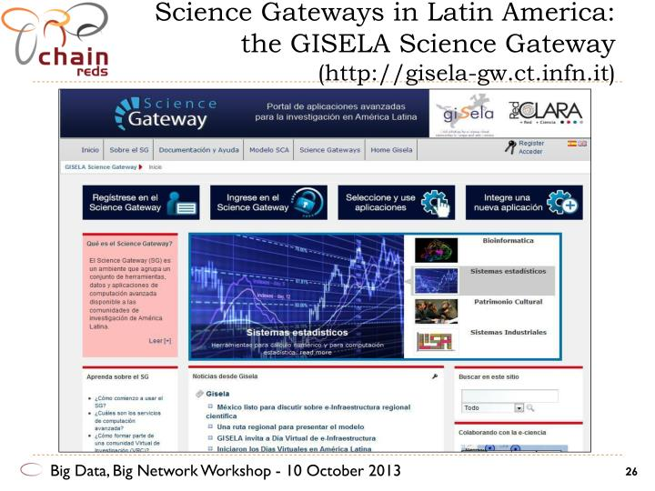 Science Gateways in Latin America: