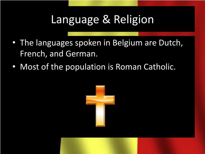 Language & Religion