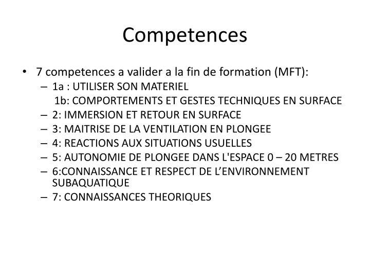 Competences