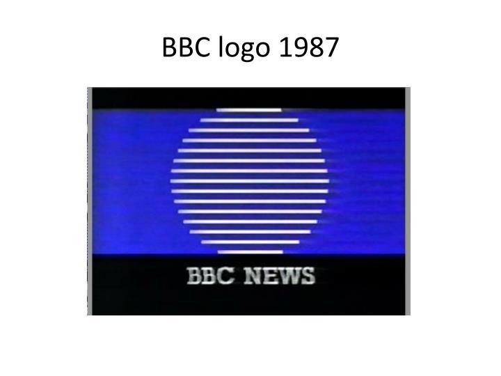 BBC logo 1987