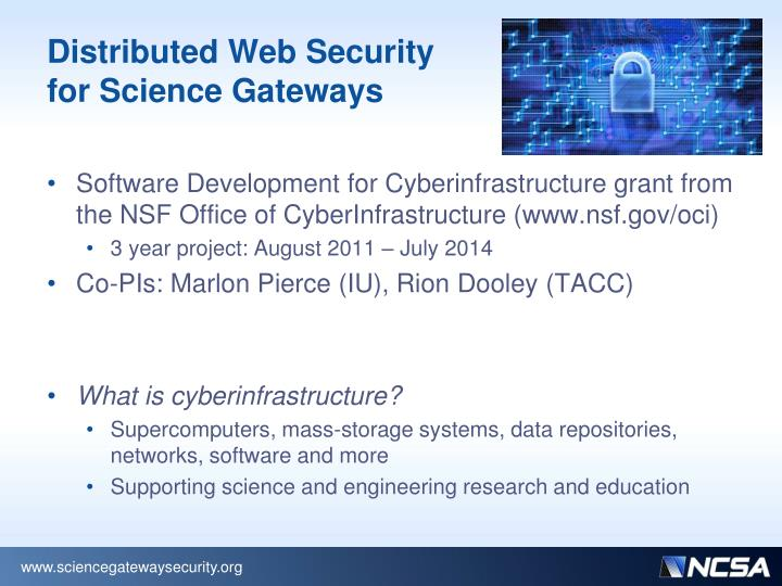 Distributed Web Security