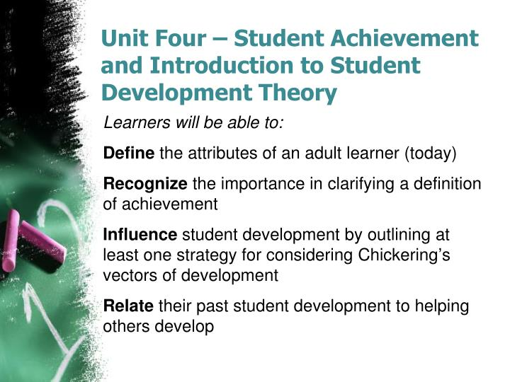 achievement of adult learner