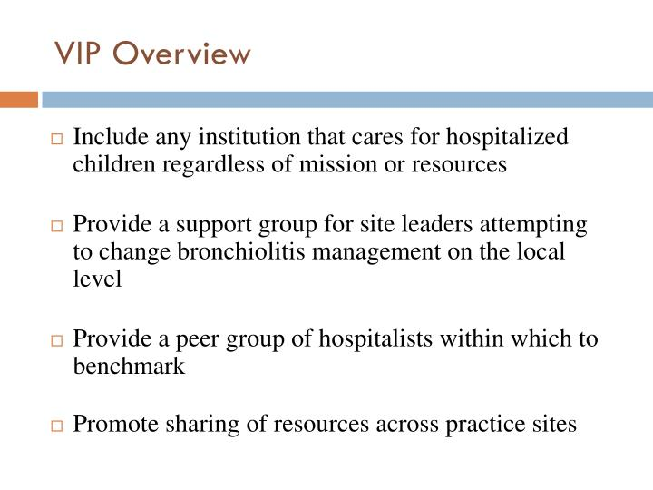 Include any institution that cares for hospitalized children regardless of mission or resources
