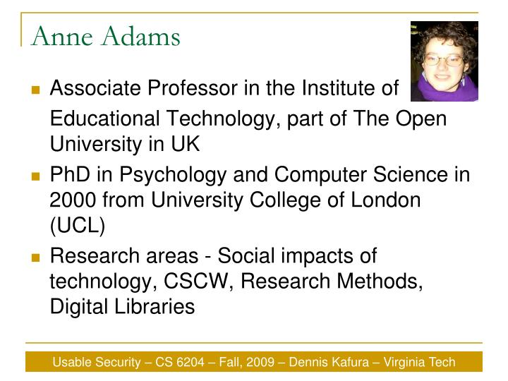 Anne Adams