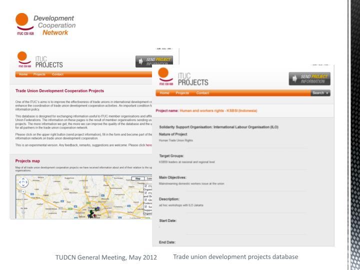 Trade union development