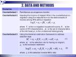 2 data and methods5