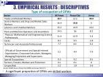 3 empirical results descriptives3