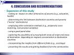 4 conclusion and recommendations1