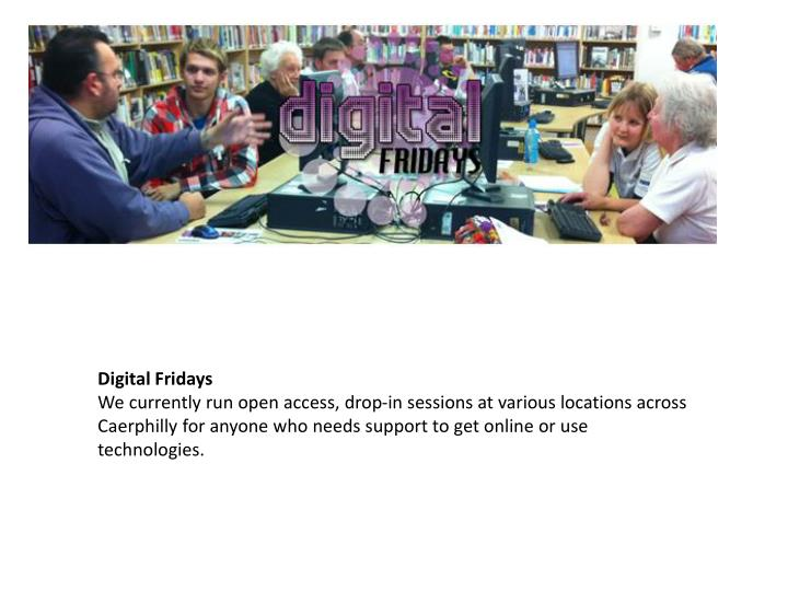Digital Fridays