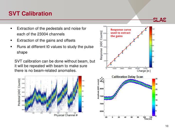 SVT Calibration