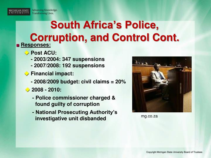 South Africa's Police,