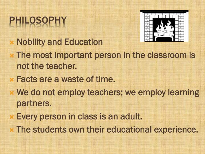 Nobility and Education