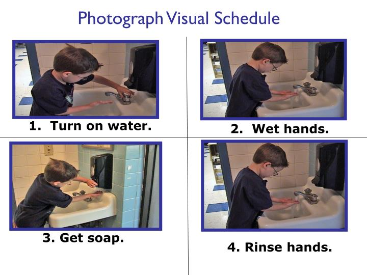 Photograph Visual Schedule