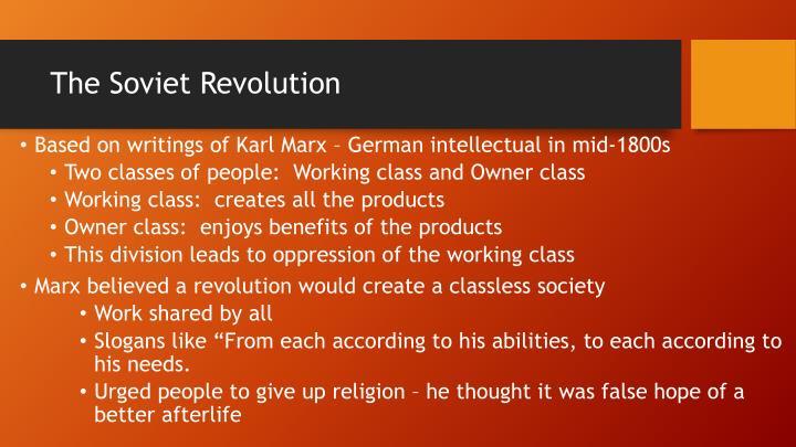 The Soviet Revolution