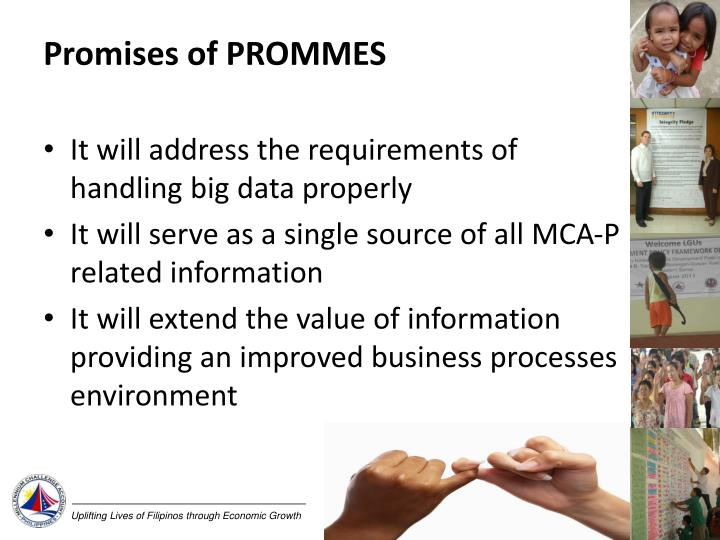 Promises of PROMMES