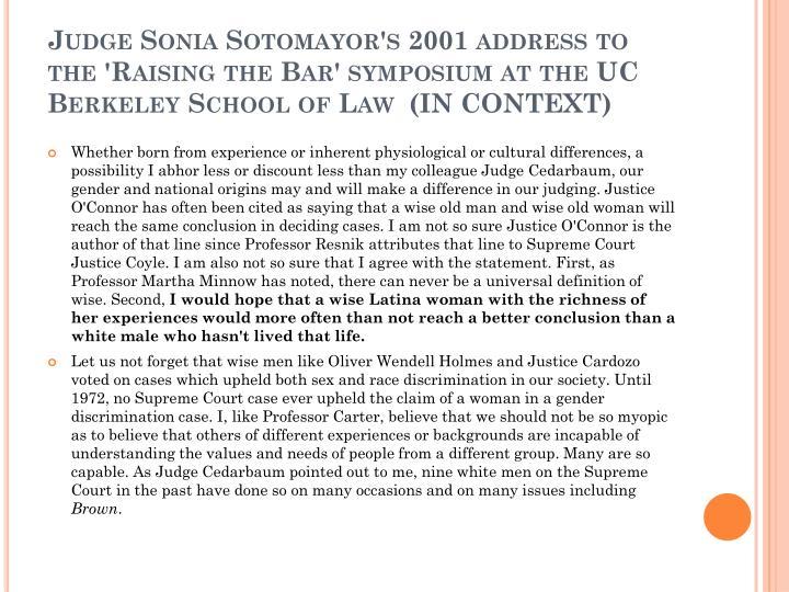 Judge Sonia