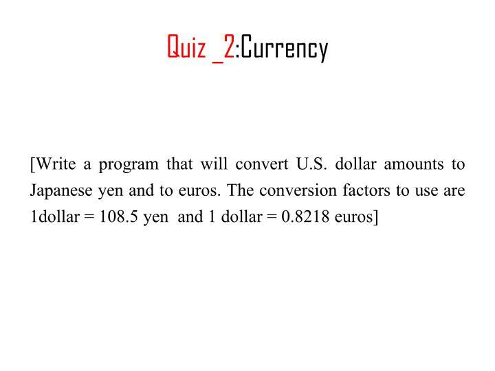 Quiz _2