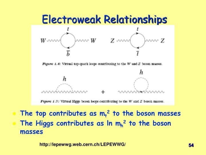 Electroweak Relationships
