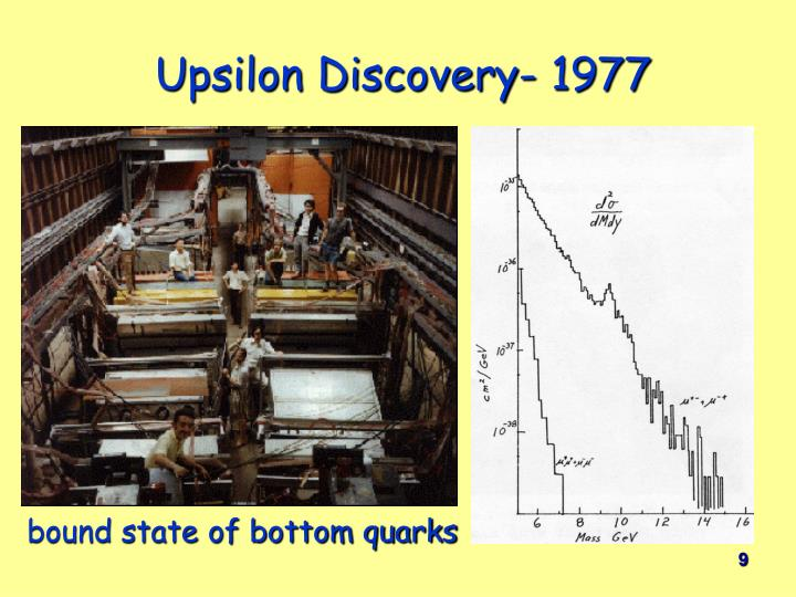 Upsilon Discovery- 1977