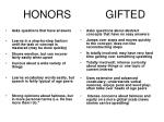honors gifted