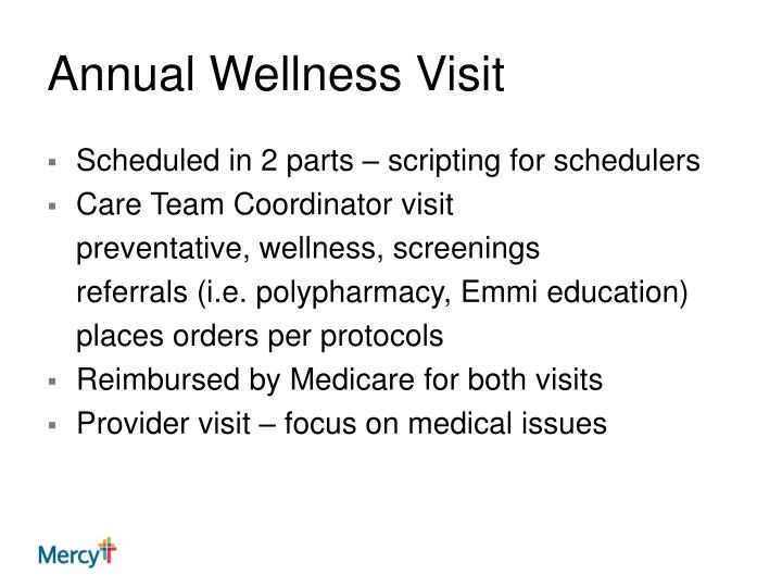 Annual Wellness Visit