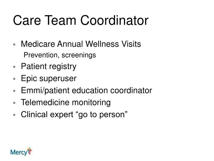 Care Team Coordinator