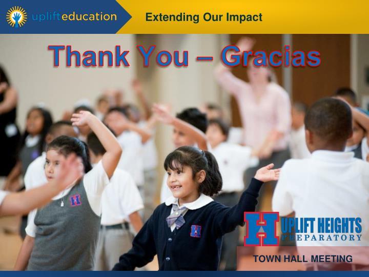 Thank You – Gracias