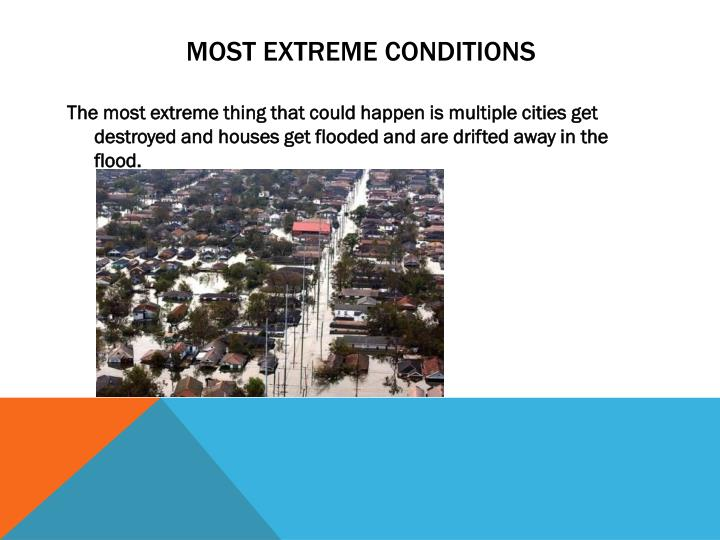 Most Extreme Conditions