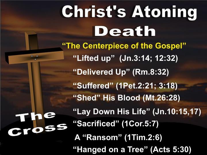 Christ's Atoning